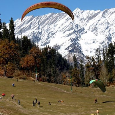 Chandigarh to Manali Taxi Service cover
