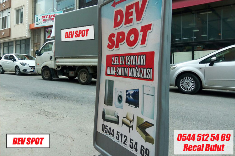 DEV SPOT ÇORLU İKİNCİ EL EŞYA cover