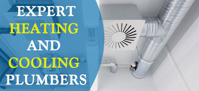 KM Heating and Cooling Plumbers cover