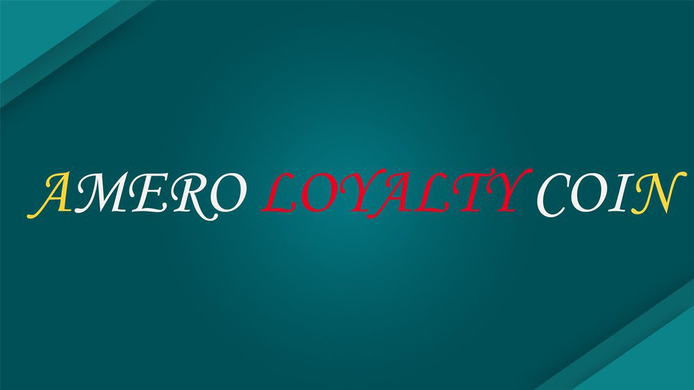 Amero Loyalty Coin cover