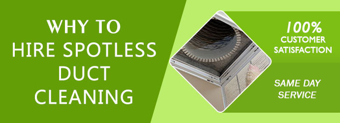 Spotless Duct Cleaning cover