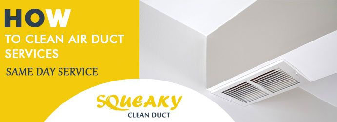 Squeaky Clean duct cover
