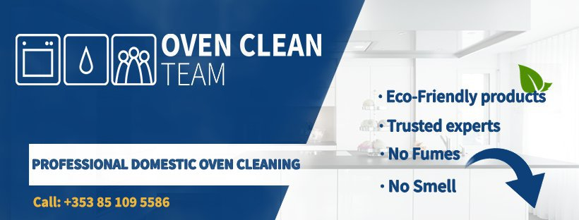 Professional Domestic Oven Cleaning - OvenCleanTeam.ie cover