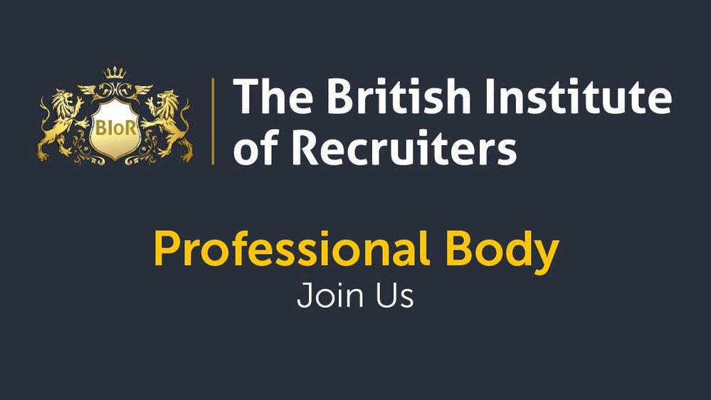 The British Institute of Recruiters - BIoR cover
