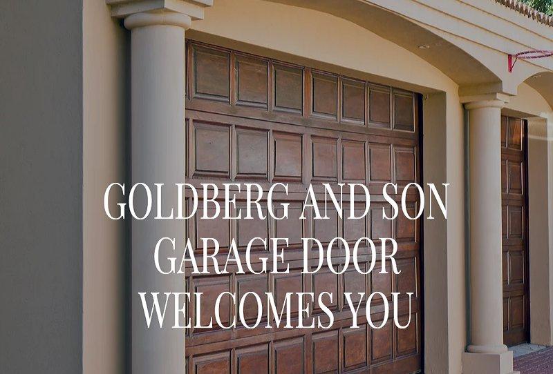 Goldberg Garage Door cover