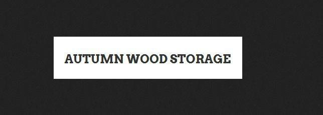 Autumn Wood Storage cover