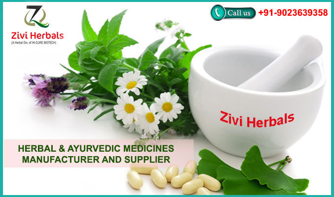 Zivi Herbals - Ayurvedic Products Manufacturers cover