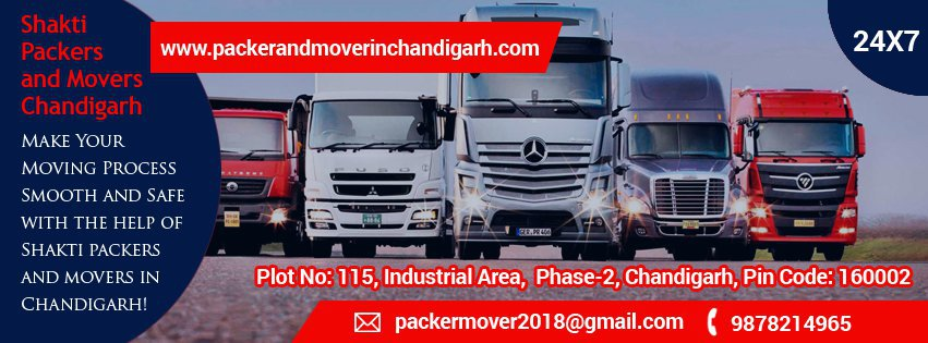 SHAKTI PACKERS AND MOVERS CHANDIGARH cover
