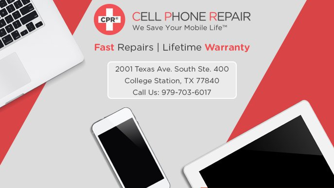CPR Cell Phone Repair College Station cover