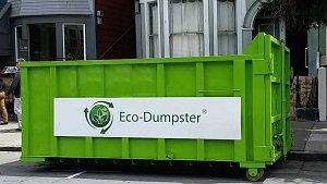 Eco-Dumpster cover