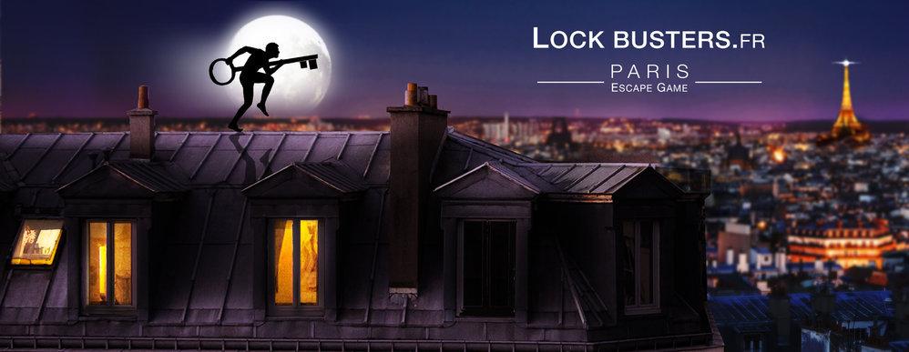 Lock Busters - L'Escape Game Gastronomique cover
