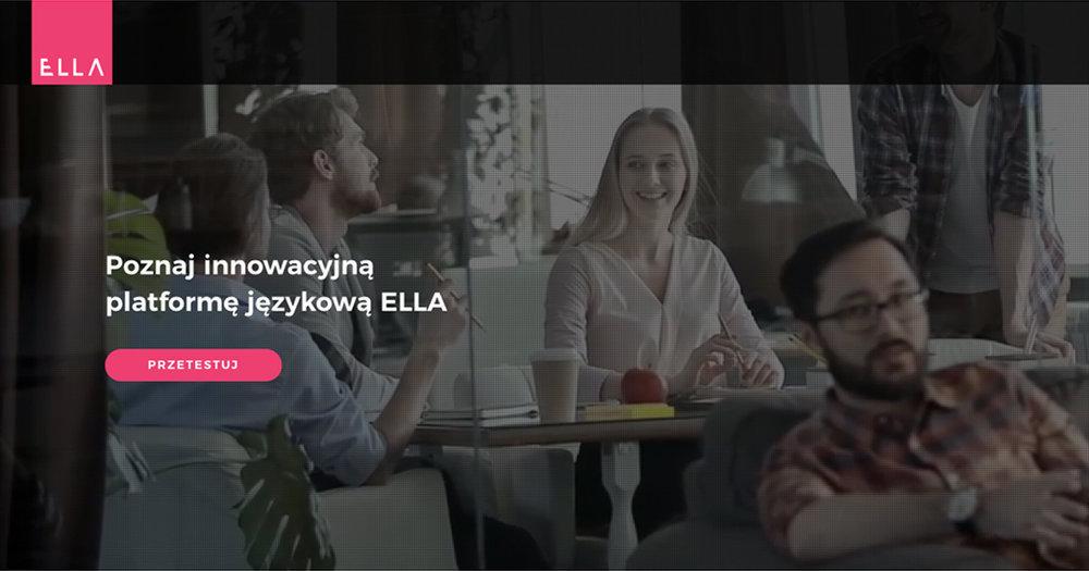Ellalanguage.com/pl/ cover