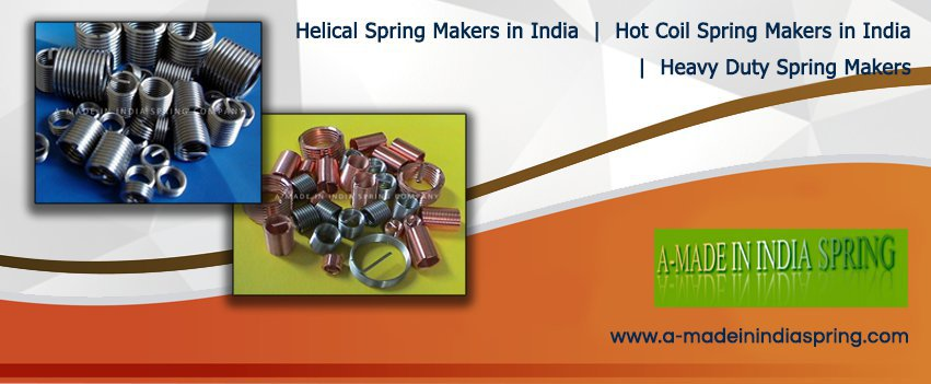 Heavy Duty Spring Makers, Hot Coil Spring Makers in India cover