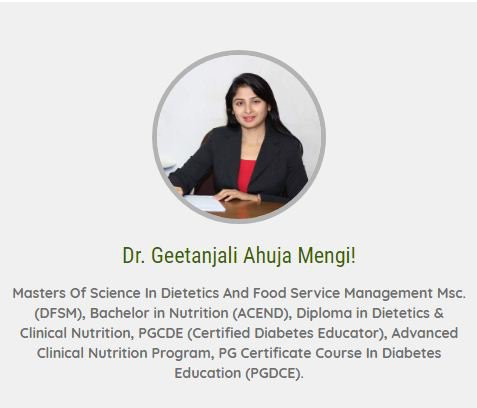 Geetanjali Medical Nutrition Clinic  cover