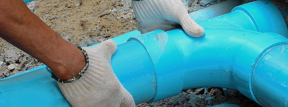 Blockbuster drain services cover