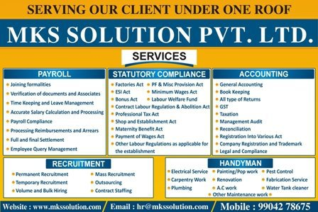 Mks Solutions Private Limited cover