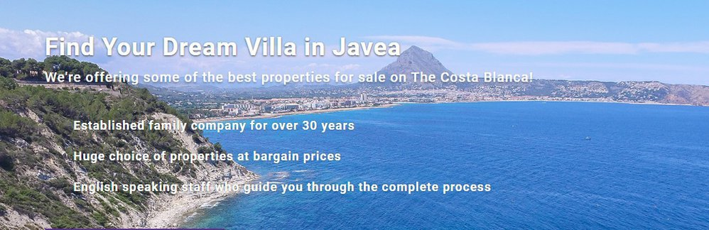Villas In Javea cover