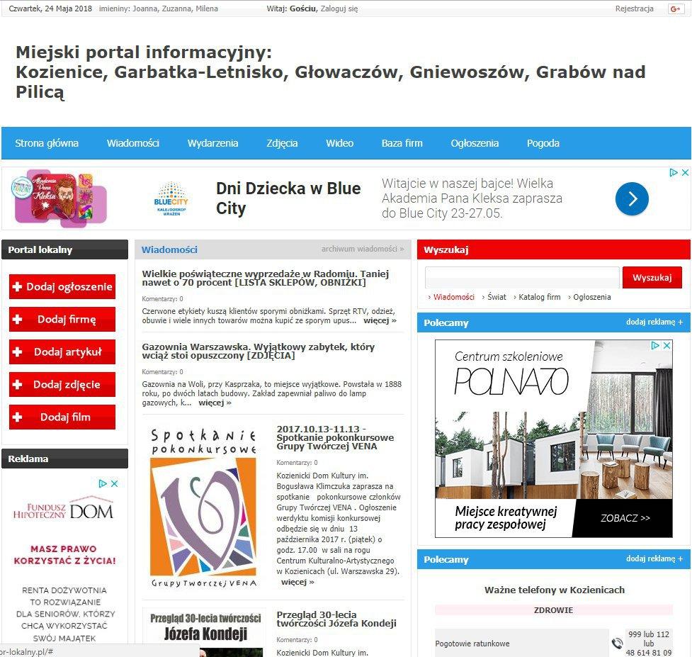 Kozienice - Informator Lokalny cover