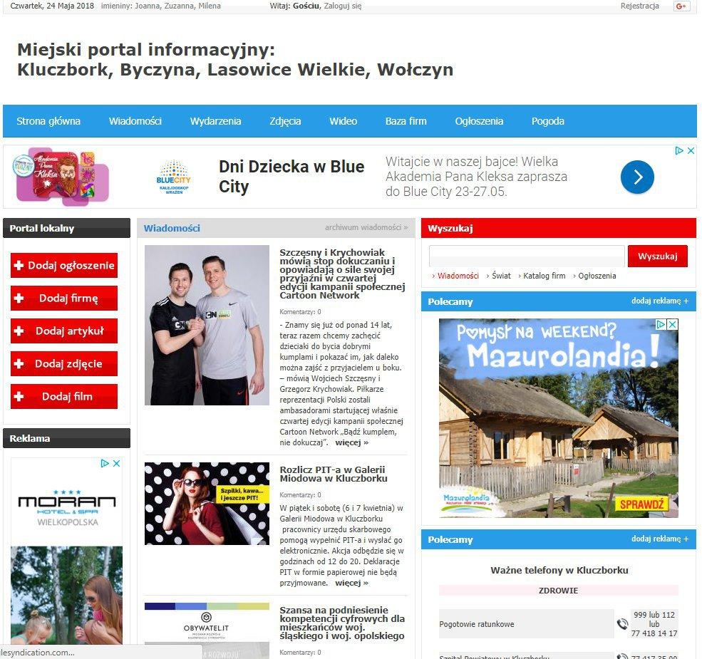 Kluczbork - Informator Lokalny cover