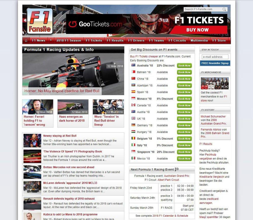 F1-Fansite.com cover