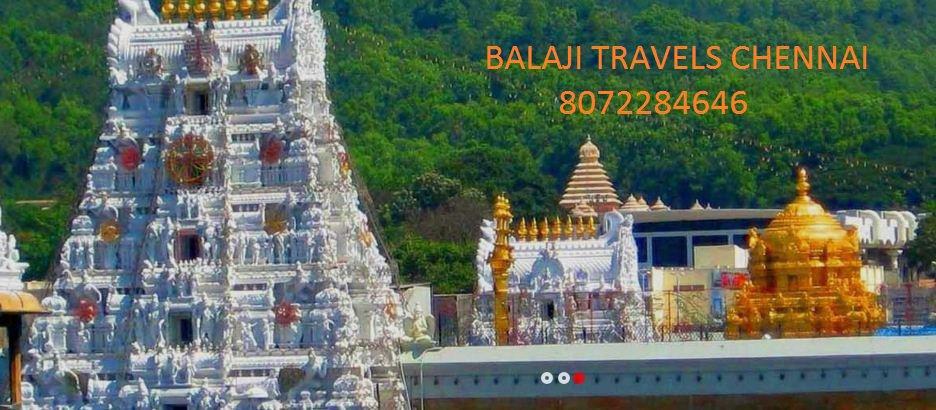 Balaji Travels-Chennai tirupati tour packages cover