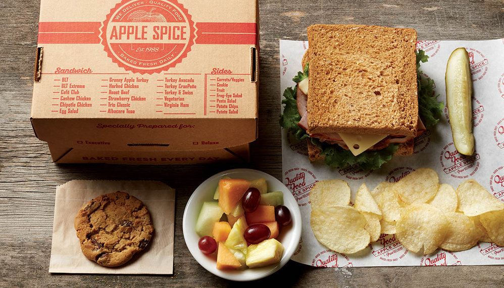 Apple Spice Box Lunch Delivery & Catering Charleston, SC cover