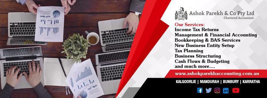 Ashok Parekh & Co Chartered Accountants cover