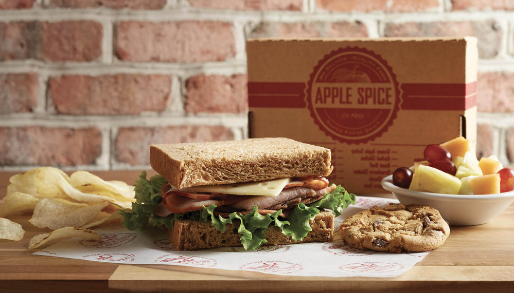 Apple Spice Box Lunch Delivery & Catering Wells Fargo Center, UT cover