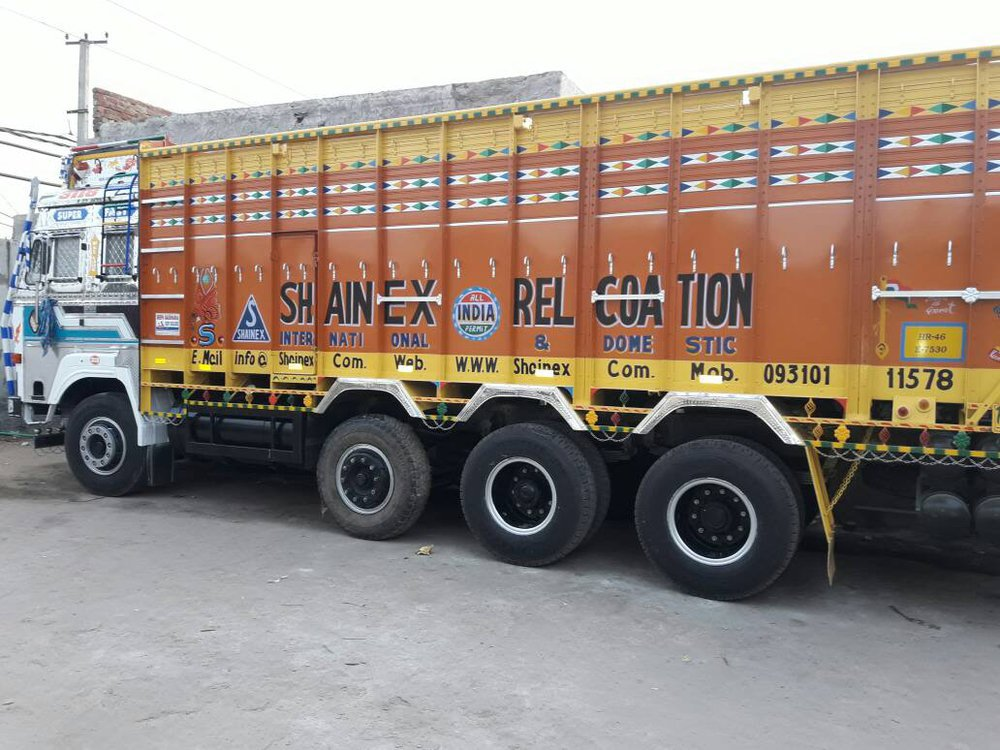 Shainex Relocation Packers and Movers cover