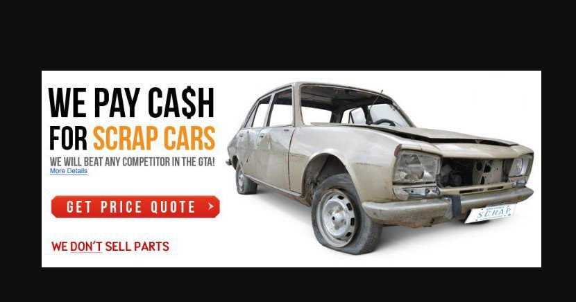 Scrap My Car North York cover