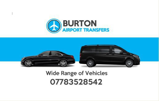 CHEAP AIRPORT TAXIS BURTON ON TRENT cover