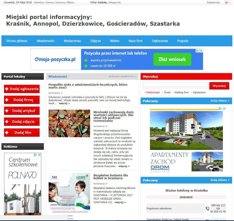 Kraśnik - Informator Lokalny cover
