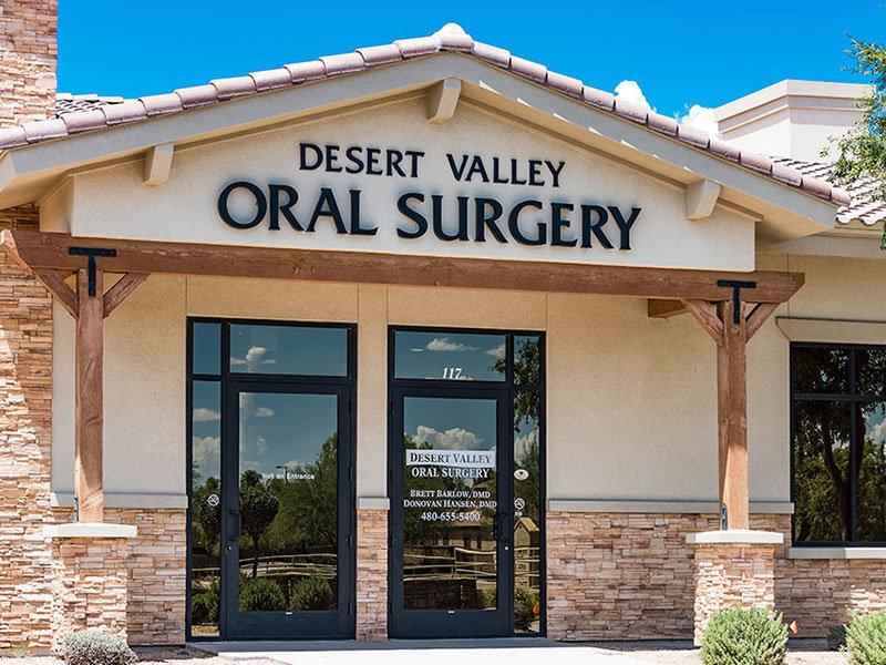 Desert Valley Oral Surgery cover