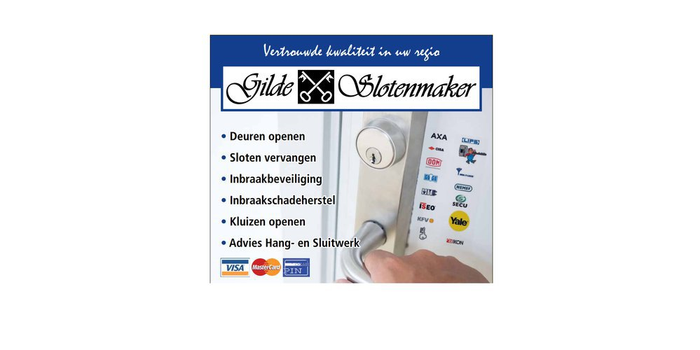 Gilde Slotenmaker cover
