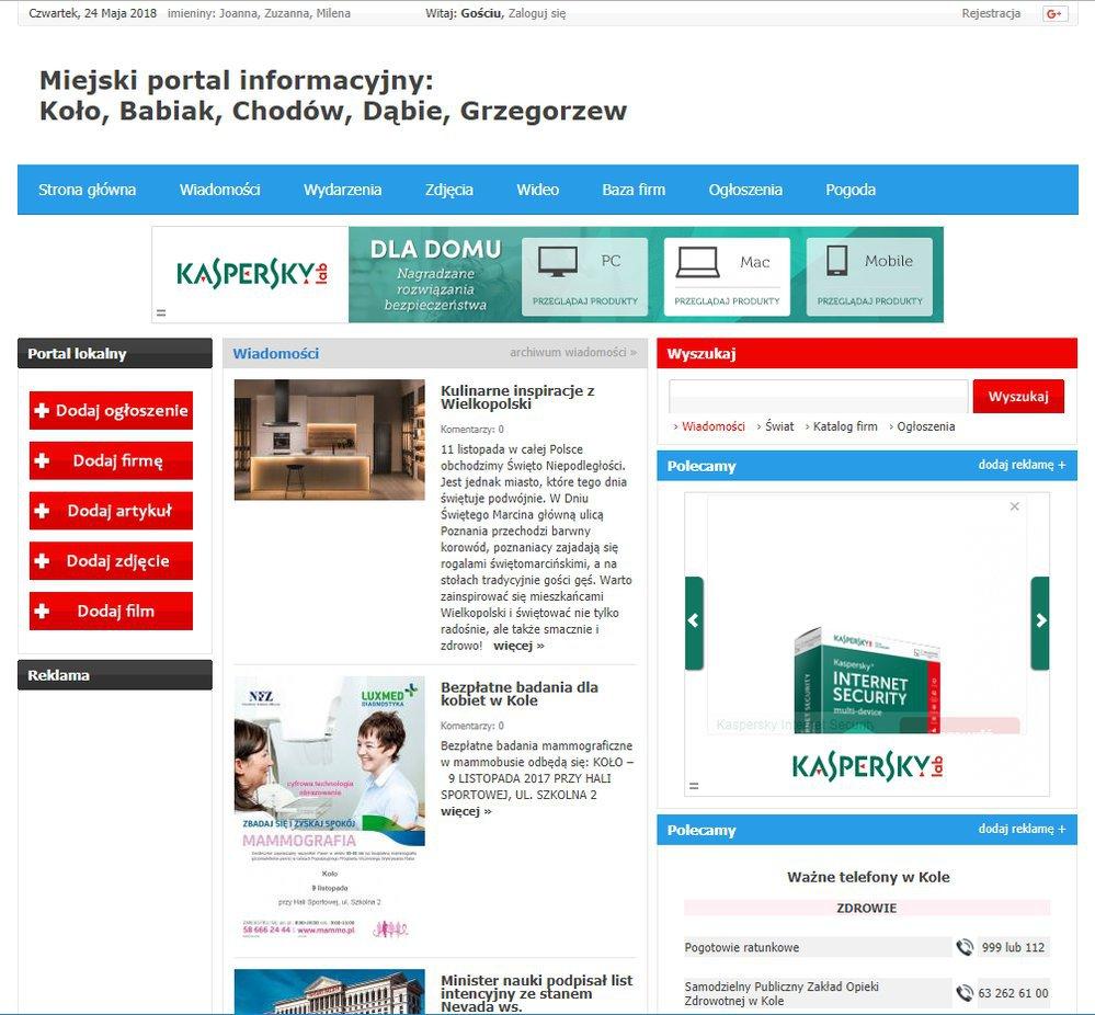 Koło - Informator Lokalny cover