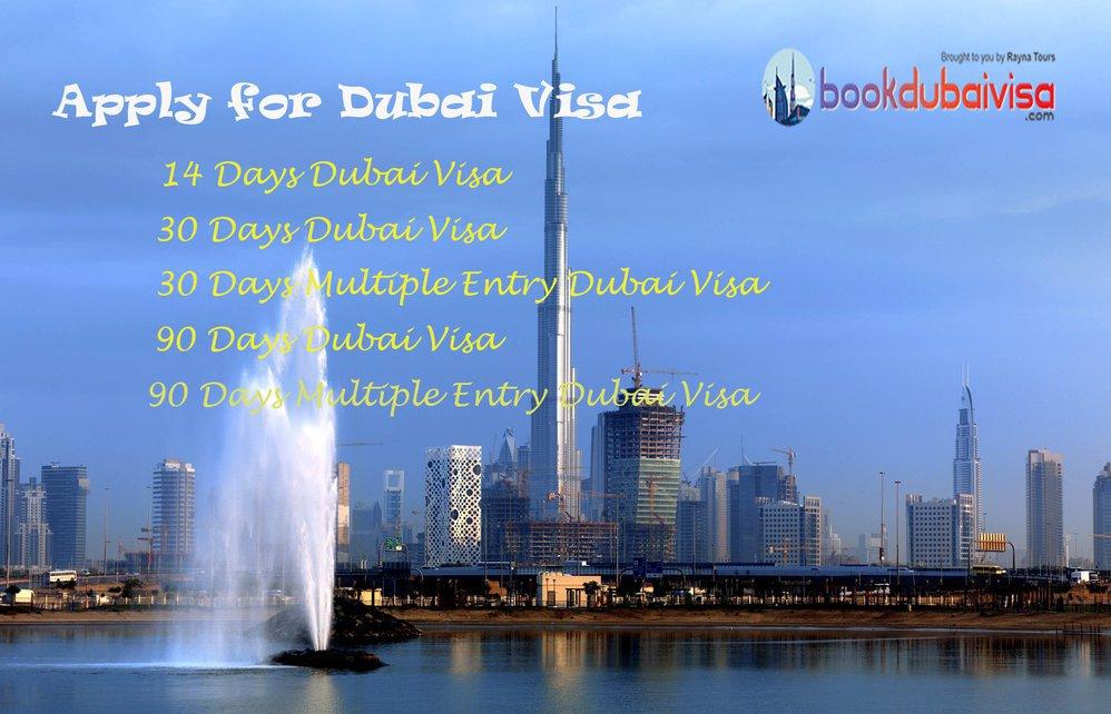 Book Dubai Visa cover