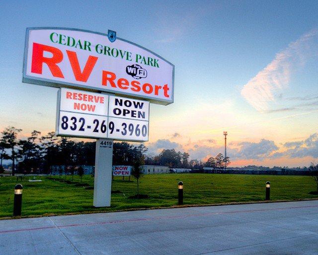 Cedar Grove Park RV Resort cover