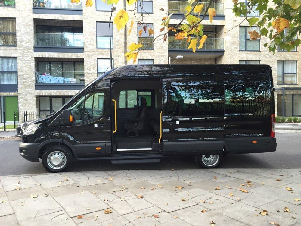 East London Minibus Hire cover
