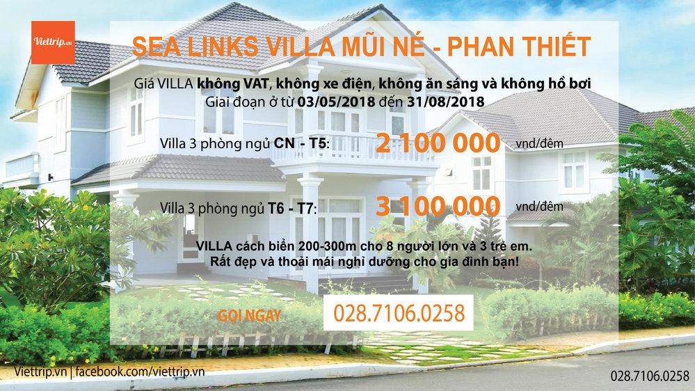 sea links villa cover