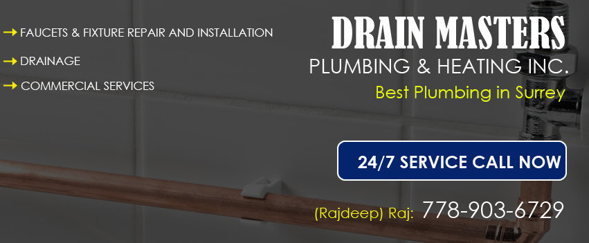 Plumbing Repair in Surrey, Langley, Richmond cover