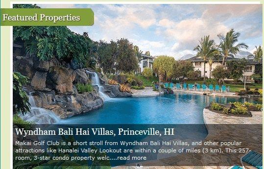 Resort Vacation International cover