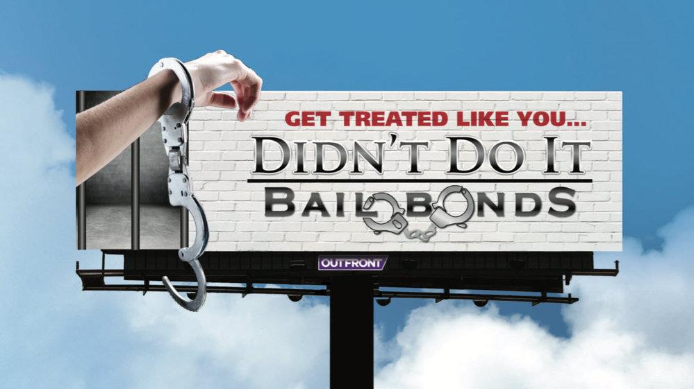 Didn't Do It Bail Bonds cover