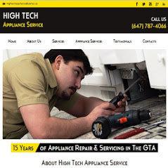 High Tech Appliance Repair Toronto cover
