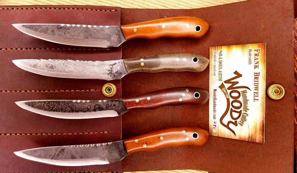 Woody Handmade Knives cover