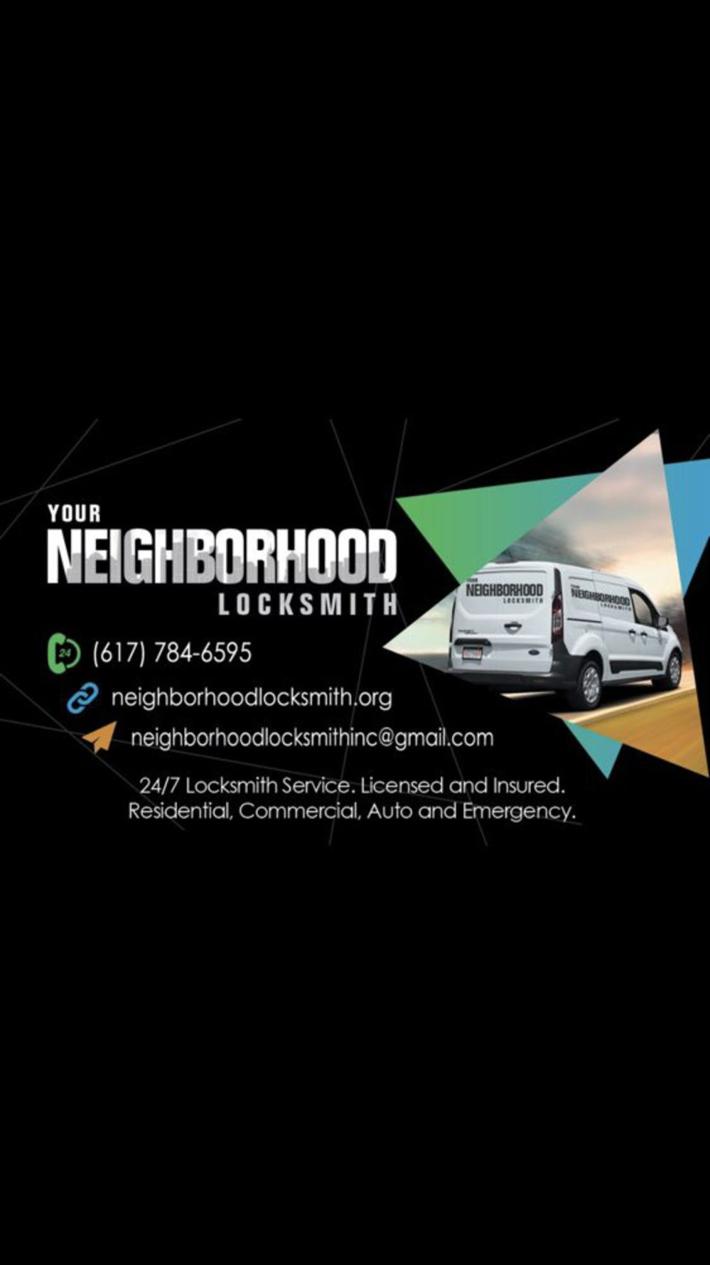 Your Neighborhood Locksmith cover