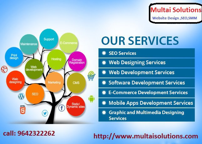 WEB DESIGNING Services From Multai Solutions cover