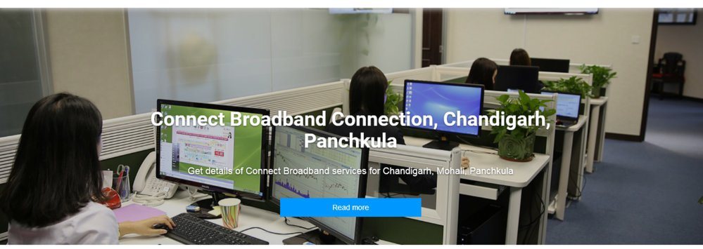 Connect Broadband Services Chandigarh, Mohali cover
