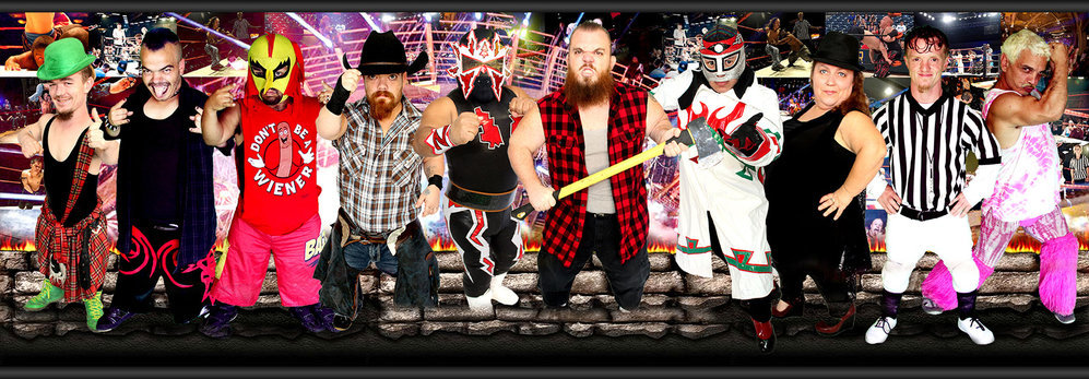 Extreme Dwarfanators Wrestling cover