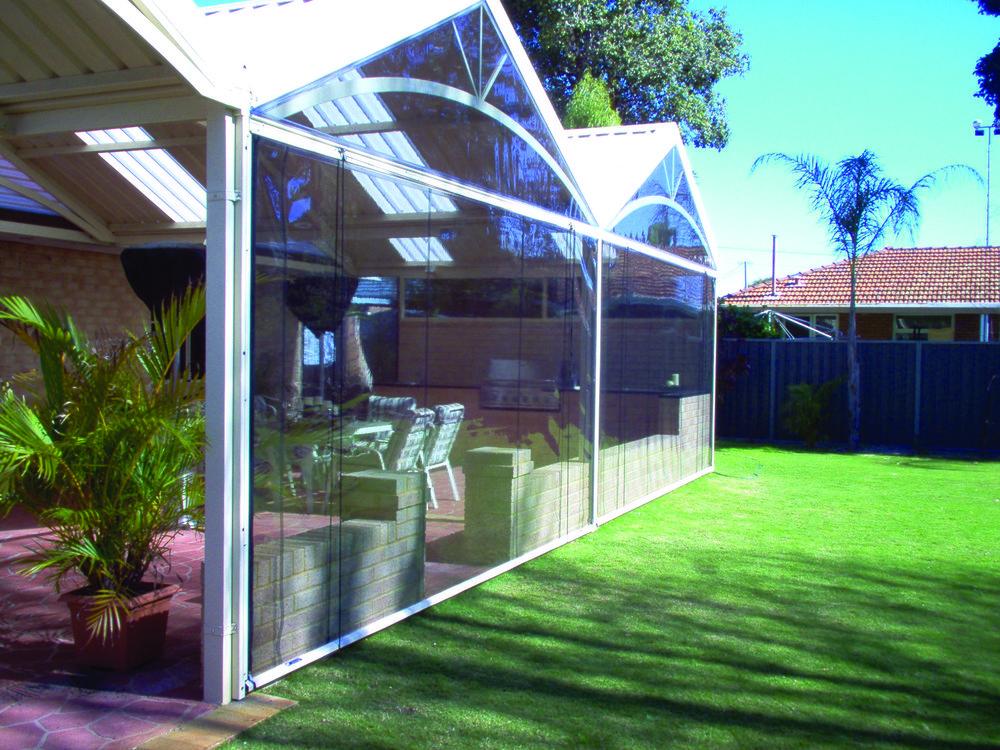Aussie Outdoor Alfresco/Café Blinds Perth cover