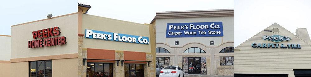 Peek's Floor Co. cover